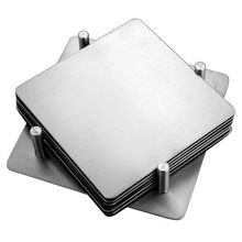 Stainless steel cup coaster