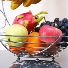 Stainless steel Wire Fruit Basket Banana Holder