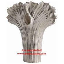 Alloy Palm Table Vase