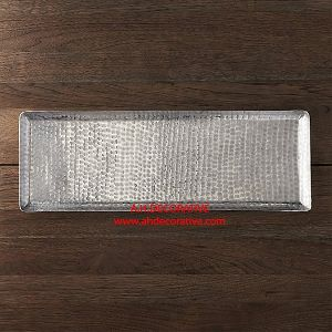 Aluminum Hammered Tray