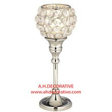 Crystal Ball Candle Holder