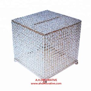 Crystal Envelop Box With feet