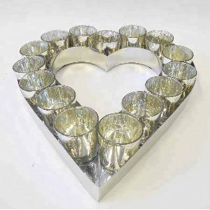 Heart Shape T-Light Candle Holder