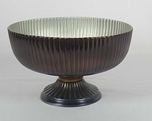 Aluminium Antique Finished Fruit Bowl