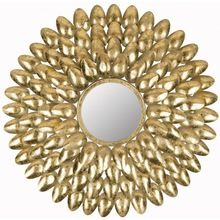 Elegant Gold Christmas Wreath Wall Hanging