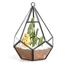 flowers artificial wedding metal terrarium