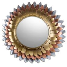Handicraft metal Wall mirrors