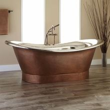 Metal Copper Bath Tub