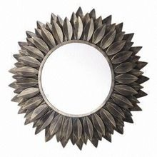 Metal round shape decorative Wall Mirror