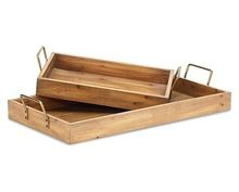 NATURAL MANGO WOOD SERVING TRAY