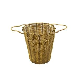 Pure Brass New Design Tea Strainer Bucket