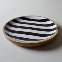 Round Wooden Table Top trays