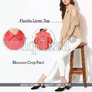 Florida Linen Top