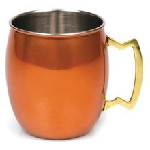 Colored Stainless Steel Moscow Mule Mug