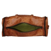 DIOS Leather Overnight Bag