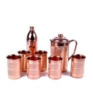 HUT COPPER BROWN DRINKING GLASS