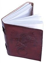 LEATHER JOURNAL DRAGON DIARY