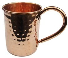 MOSCOW MULE COPPER MUG WITH C HANDLE