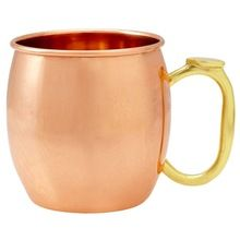 MOSCOW MULE COPPER PLATED MUG