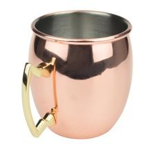 NICKEL POLISHED COPPER CUP