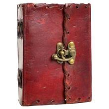 Poetry Leather Journal Blank Book