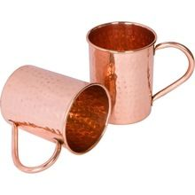 PURE COPPER BEER MUGS