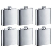 Pure Stainless steel hip Flask