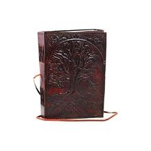 Tree Leather Blank Book