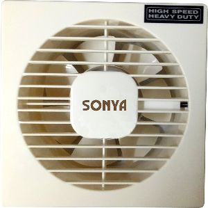 "4"" Hs Axial Plastic Exhaust Fan Opel White"
