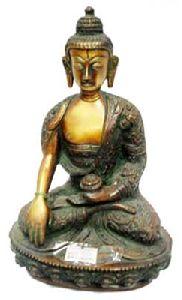 Brass Buddha Ji Statue