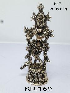 Brass Krishna Ji Statue