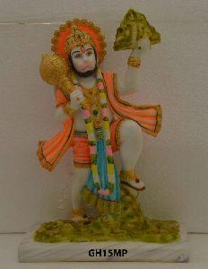 Mould Marble Hanuman Ji Statue