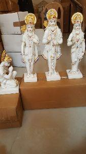 Resin Ram Darbar Statue