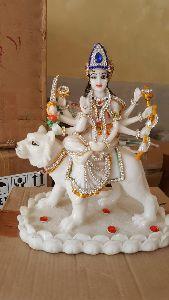 Resin Shera Wali Mata Statue