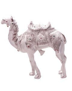 White Metal Camel Figure