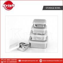 stainless steel storage bowls