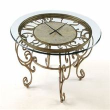 large clock table top coffee table