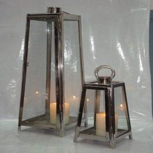 stainless steel tall wedding lantern