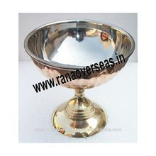 Brass Copper Steel Metal Ice Cream Cup