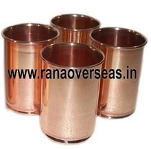 Pure Copper Glass Cup Tumblers