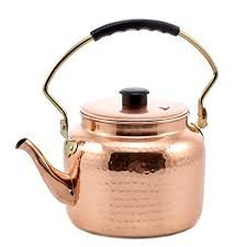 Pure Copper Hammerred Tea Kettle