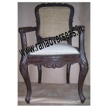 Wooden Dining Chair with Arm Rest