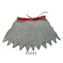Medieval Chainmail Armor Skirt