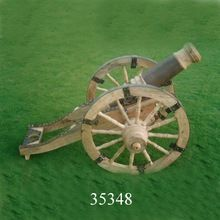 Wooden Iron Cannon