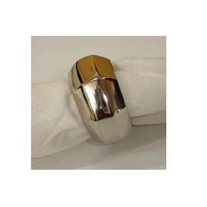 brass napkin ring holder