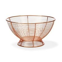 Copper Wire Mesh Fruit Basket