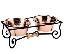 Iron Pet Bowl Stand