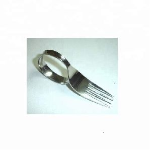 Metal Spoon Design Napkin Ring