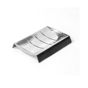 Silver colored Iron Soap Case