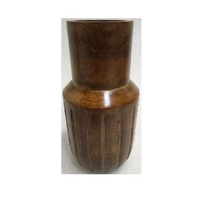 Wooden Home decorative Flower Vase
